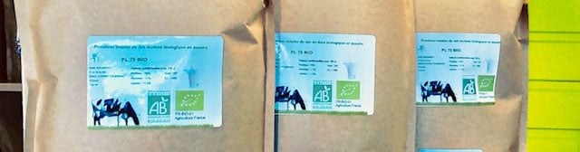 84€ les 3 kg de protéine totales de lait bio eggnergy
